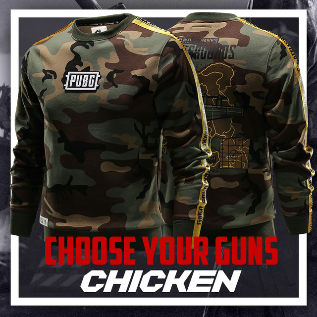 Battlegrounds PUBG Long Sleeve Sweatshirts