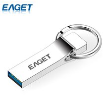 Original EAGET U90 USB 3.0 Flash Drives 64GB 32GB 16GB Metal USB Mini Memory Stick Pen Drive Data Transfer For Laptop PC U Disk