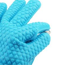 Hot selling  Kitchen Cooking Microwave Oven heat insulated silicone gloves