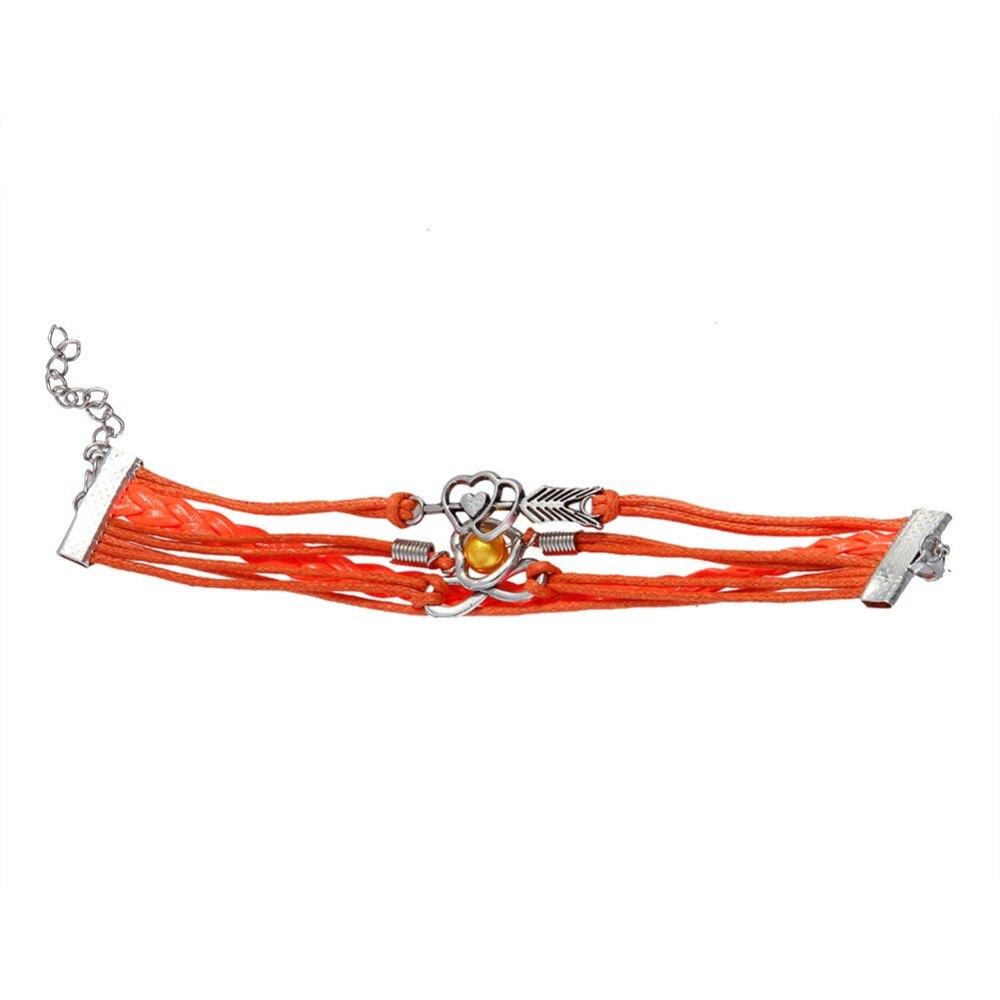 paracord bracelets jewelry bracciali uomo multilayer charm bracelet pulsera hombre leather. Black Bedroom Furniture Sets. Home Design Ideas