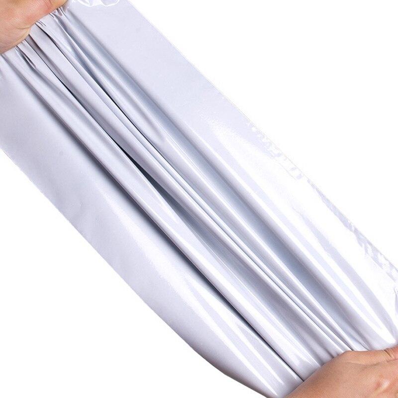 400 개/몫 5 크기 폴 리 메일러 플라스틱 우편 봉투 배송 봉투 폴 리 가방 강력한 플라스틱 인감 mailbags 패키지 가방-에서선물가방&포장용품부터 홈 & 가든 의  그룹 2