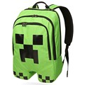 green Boy Girl backpack Leisure Knapsack Minecraft Steve Alex School bag Mountaineer Adventure 45CM school bag