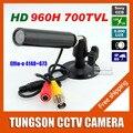 Venda quente Sony 960 H Effio 700TVL Micro vídeo de vigilância de segurança Waterproof pequeno bala Mini CCTV câmera de 3.6 MM lente