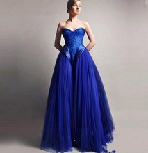 New Long Evening Dress 2016 Sweetheart Vestido De Festa Princess Style Formal Evening Gowns For Wedding Party Prom Dresses