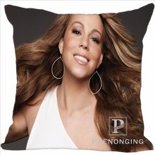 Custom Decorative Pillowcase Mariah Carey 01 Square Zippered Pillow Cover  Best Gift 20X20cm a1056fda14af