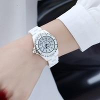 DALISHI Brand Women Watches Pearl Ceramic Watch Ladies Dress Watches Fashion Girl Hour Women Charm Wristwatch Relogio Feminino