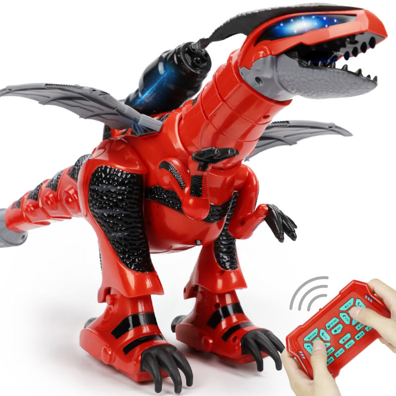 Remote Control Dinosaur Animals Robot Educational Toys for Child Birthday Christmas Toys for Children Gift untamed raptor by fingerlings interactive collectible dinosaur for children gift toys