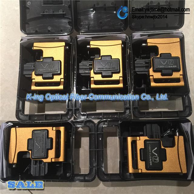 5 Pçs/lote DHL/UPS/FEDEX Frete grátis ORIGINAL Mais Recente INOVAÇÃO V7 Óptica Cutelo faca de corte de fibra Óptica