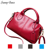 2017 Special Offer Cell Phone Pocket New Pure Color Tote Women S Handbag Ladies Shoulder Bags