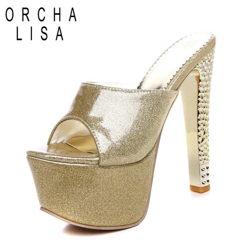 gold Mujer Chaussures Pantoufles De Talons Purple Peep Plate Femmes silver Marque C445 Zapatos Orcha red Toe Lisa À Hauts Sandales forme D'été Partie qWTAx41nCw