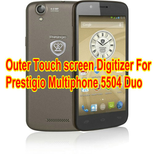 New For 5 inch Prestigio 5504 DUO touch screen digitizer panel Sensor Glass Replacement Free Shipping 8 inch touch screen for prestigio multipad wize 3408 4g panel digitizer multipad wize 3408 4g sensor replacement