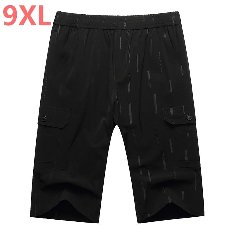 Plus size 10XL 8XL 6XL 5XL 4XL new arrivals cotton men shorts homme beach slim fit bermuda masculina joggers Big large size