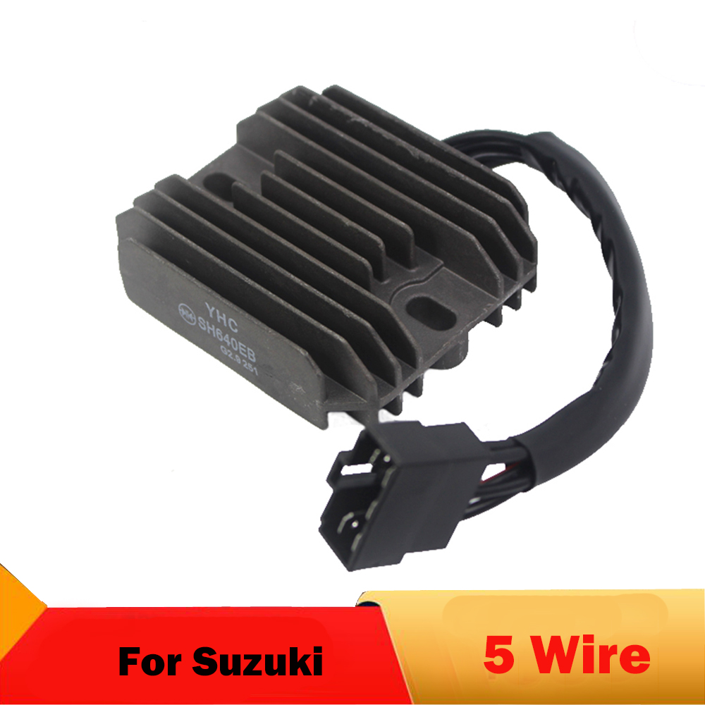 Motorcycle Regulator Rectifier For <font><b>Suzuki</b></font> GSXR600 1997-2000 GSXR750 GSX1300R Hayabusa <font><b>VL1500</b></font> <font><b>Intrude</b></font> LT-F500F Quadrunner image