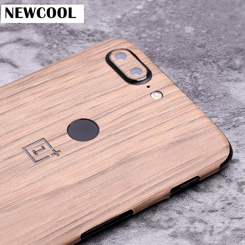Carboon wood Grain back film Protective cover stickers For OnePlus 5T 5 T 6.01 Phone Color back Paster Decorative film