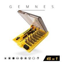 Precision 45 In 1 Electron Torx Mini Magnetic Laptop Screwdriver Tool Set Hand Tools Kit Opening Repair Phone Laptop Tools