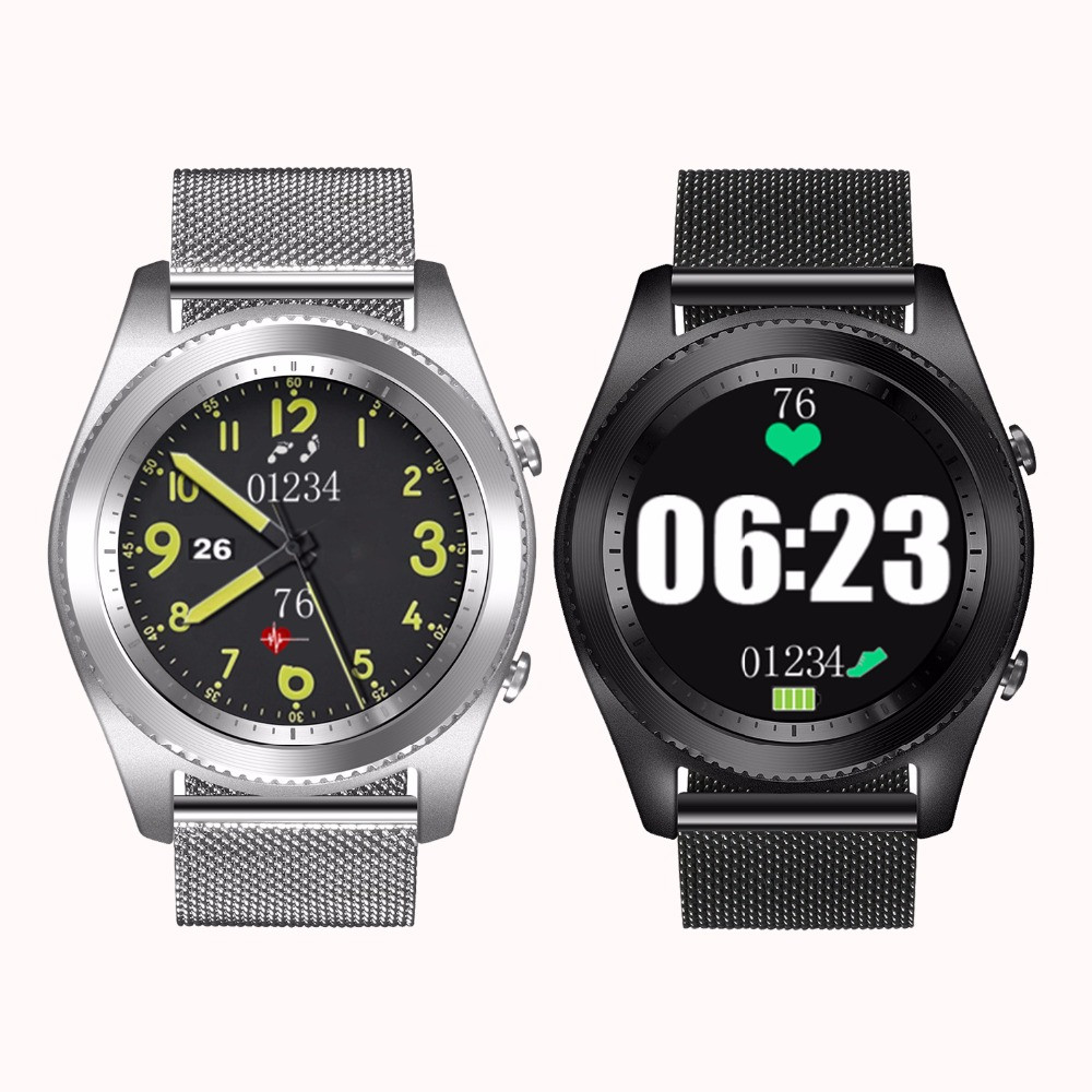 For Xiaomi Huami S9 Smart Watch Sleep Heart Rate Monitor Bluetooth Watch GPS Xiaomi Amazfit 2 PPG positioning camera smart watch