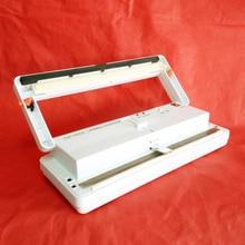 DZ-300A Vacío máquina de sellado sellador de bolsas de estilo de tabla, sellador al vacío de plástico, máquina de envasado de alimentos, embalador del vacío 110 V/220 V