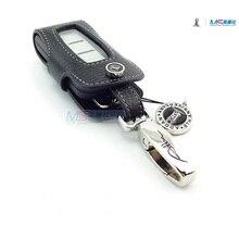 Натуральная Кожа Ключа Автомобиля чехол для MITSUBISHI LANCER EX OUTLANDER AUX ключевой бумажник брелок Крышка Ключ Владельца авто аксессуары новый прибытие