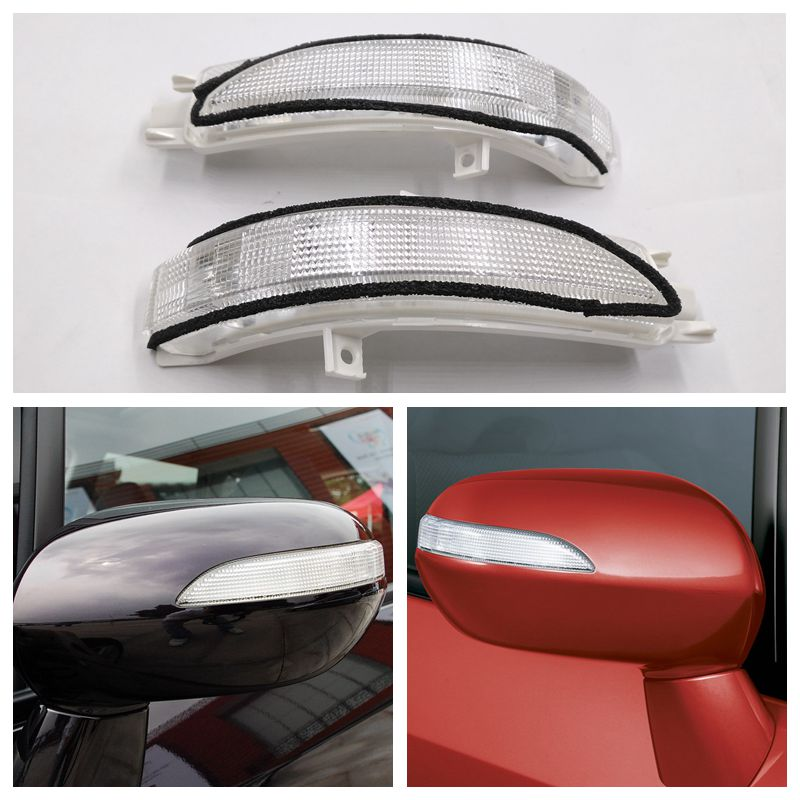 Cafoucs Car Rearview Turn Signal Side Light fOR Honda FIT JAZZ FIT SALOON CITY 2003 - 2008 34350-SAA-013/34300-SAA-013