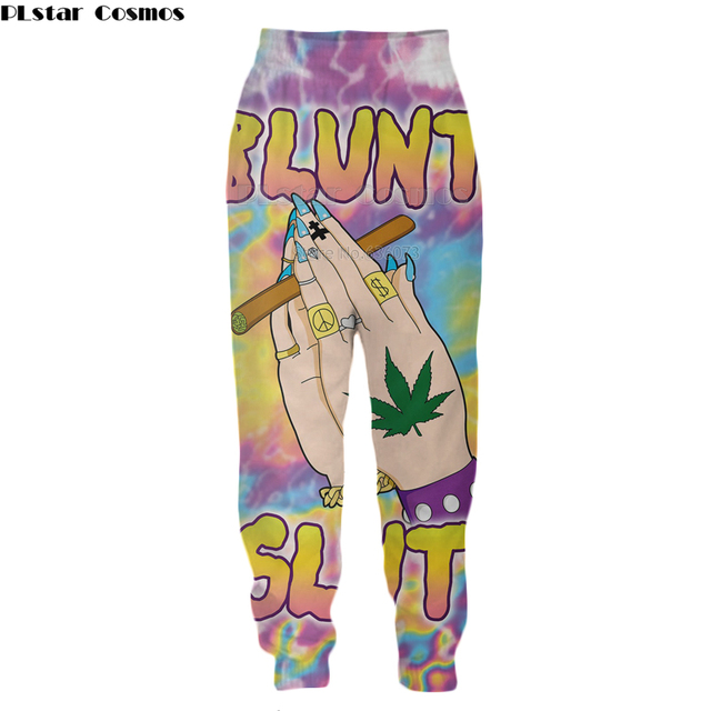 PLstar Cosmos New Fashion 3d Sweatshirt Fabulous Blunt Slut Hoodie
