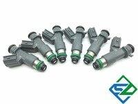 6pcs Fuel Injector Nozzle For Honda Accord 2008 2012 MDX RSX TL TSX 6cyl 3 5L
