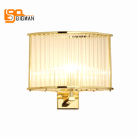 simple style crystal wall light modern wall lamps chrome/gold wall lighting for home