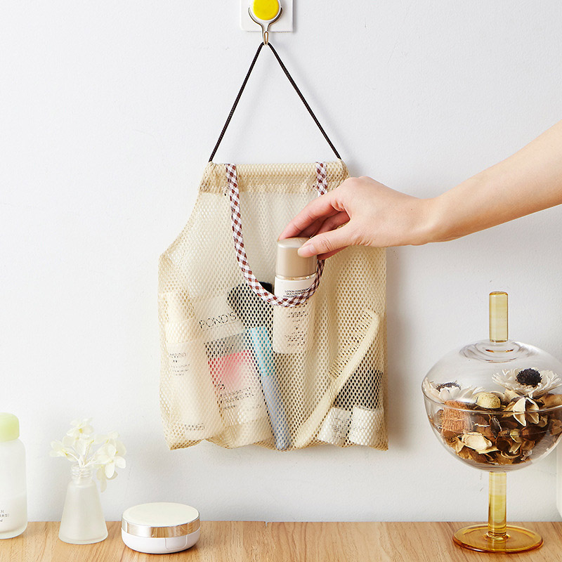 Image 5 - Reusable Grocery Produce Bags Cotton Mesh Ecology Market String Net Shopping Tote Bag Kitchen Fruits Vegetables Hanging Bag-in Bags & Baskets from Home & Garden