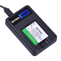 1pc Li 40B Li 40B Li 42B Li 42B Battery + LCD USB Charger for Olympus for FUJIFILM fuji NP 45 NP 45 NP45 NP 45A 45B 45S EN EL10|li 42b|li 40bli 42b battery -