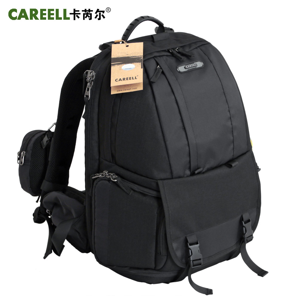 2015 hot sale CAREELL  C1013 digital slr camera bag double-shoulder  slr bag professional anti-theft camera backpack масштаб 1 18 toyota rav4 2013 diecast модель автомобиля оранжевый