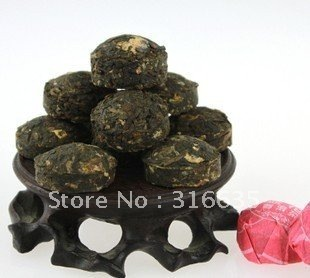 20PC Peach blossom tea*Different puerh tea,Pu'er,Slimming Puer,Ripe Tea Chinese tea