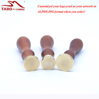 Personalized Custom Made Election Sealing Wax Stamp For Govement Company Document Sealing With Wooden Handle