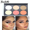 2017 Professional 6 Colors Contour Blusher Face Powder Palette Contouring Makeup Cosmetic Blush Palette Hot Sale