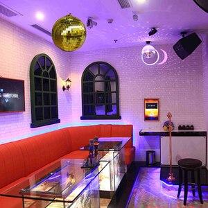 Image 5 - 1 個直径 10/12/15/20 センチメートルミラーボール反射装飾ボールバーディスコボールウェディングガラスボールケーキ装飾ゴールド/ホワイト