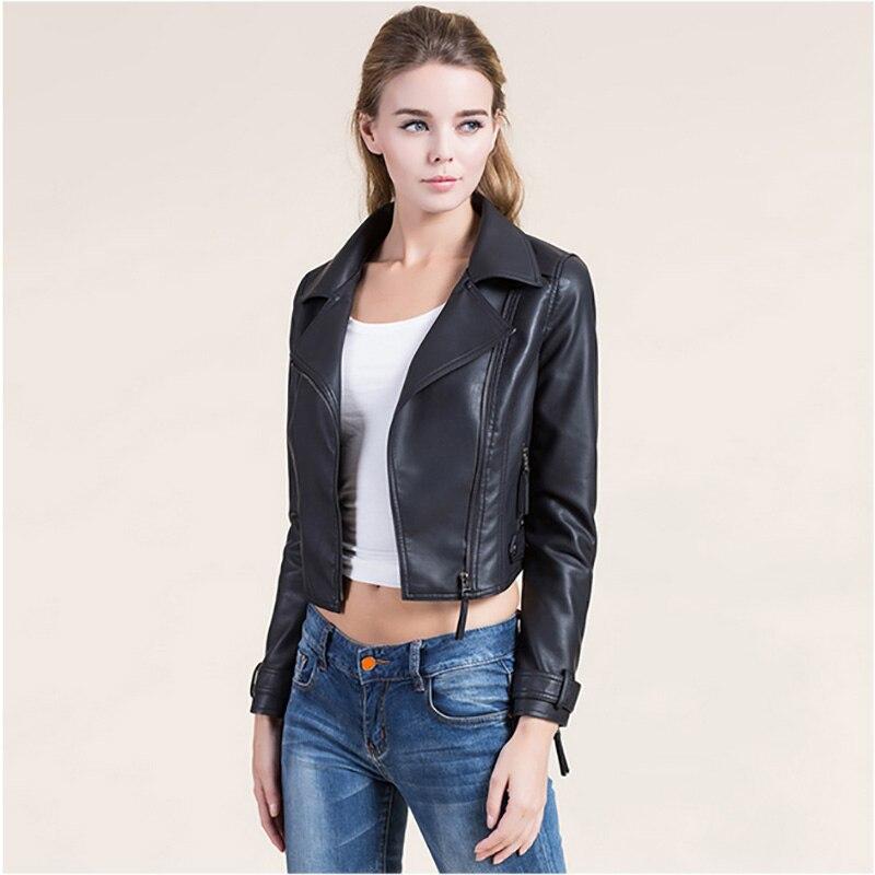 blouson cuir femme biker les vestes la mode sont populaires partout dans le monde. Black Bedroom Furniture Sets. Home Design Ideas
