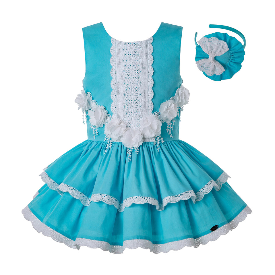 Pettigirl Summer for Girls Knee Lace Dress Children Princess Wedding Party Elegant Porno Frocks Kids Clothes