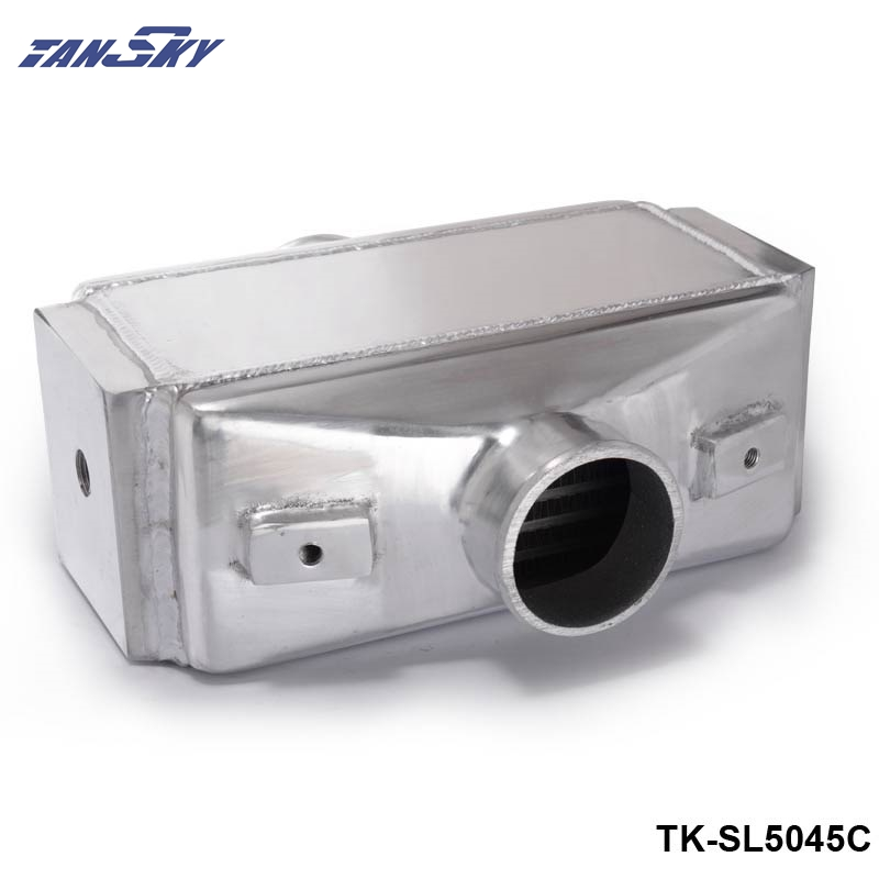 TANSKY - 12x11X4.5 Air to Water Intercooler A/W IC 3 in/out Liquid Aluminum I/O 3.0 TK-SL5045C epman universal 3 aluminium air filter turbo intake intercooler piping cold pipe ep af1022 af
