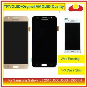 "Image 1 - ORIGINAL 5.0"" For Samsung Galaxy J5 2015 J500 J500H J500FN J500F LCD Display With Touch Screen Digitizer Panel Pantalla Complete"