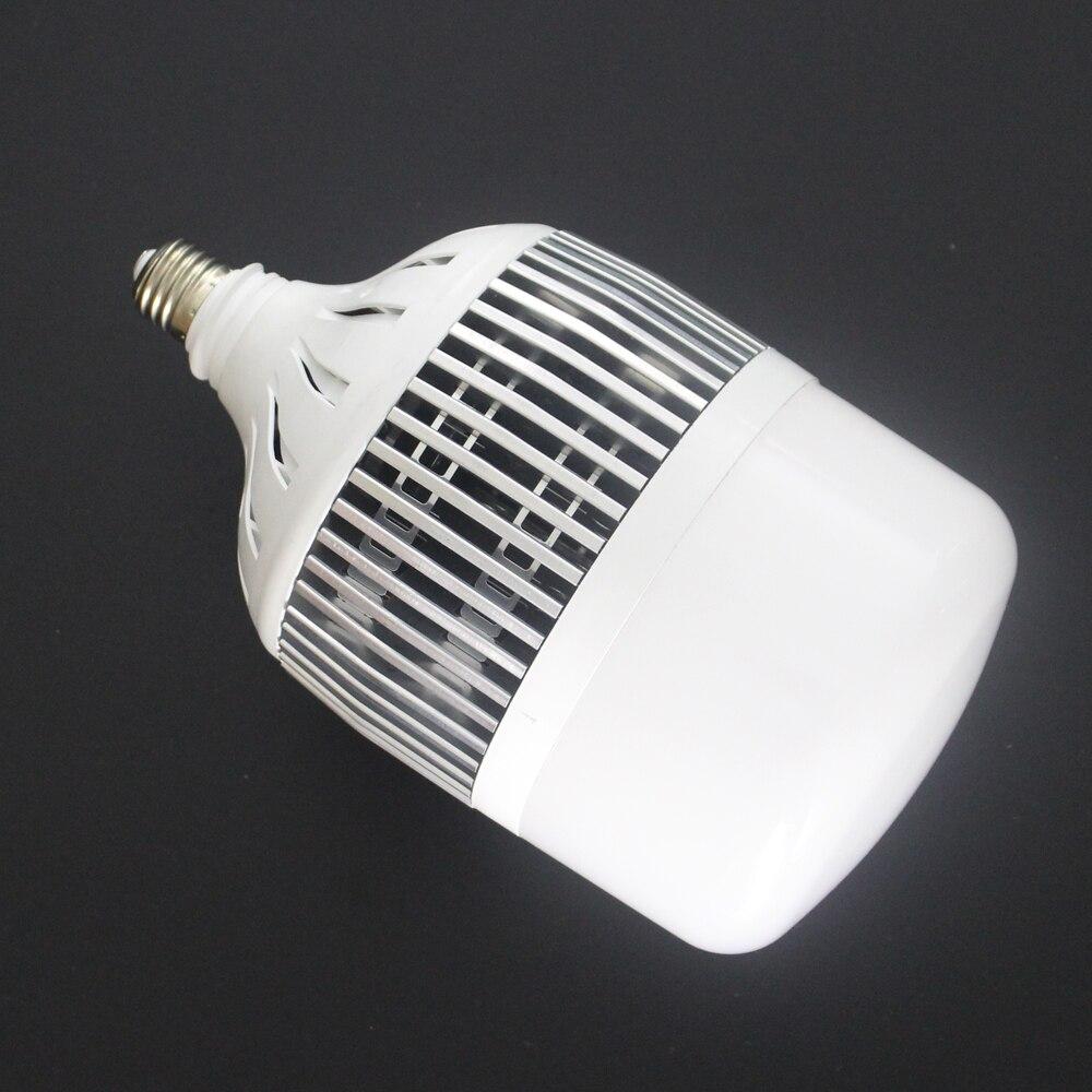 Haute puissance 30 W 50 W 80 W 100 W 150 W LED ampoule E40 E27 220 V lampe à LED haute LED lumineuse pour entrepôt ingénieur carré
