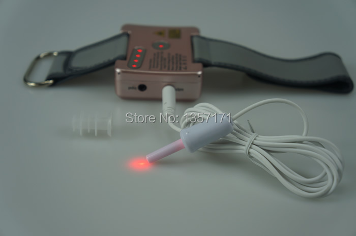 Wrist type laser therapy device for high blood pressure and diabetes type II healthcare gynecological multifunction treat for cervical erosion private health women laser device