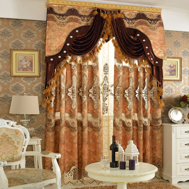 Aliexpress  Buy 2016 New Arrrival Luxury Curtains For Living - luxury curtains for living room