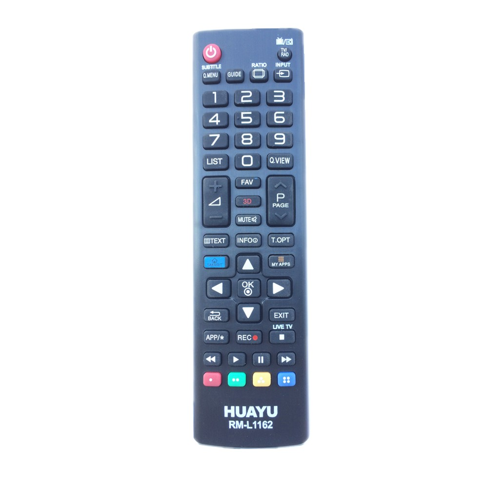 RM-L1162 Universal For All LG TV Remote Control with 3D Buttons AKB72914009 AKB72914020 AKB72915207 AKB72975301 AKB72975902 universal one way car alarm security system with four buttons remote transmitters suitable for all kinds of cars fast shipping