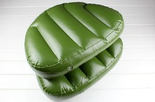 46*33*10cm Outdoor Camping Water Sports Boat Seat Inflatable Cushion Inflatable Alumnium Fishing Boat Kayak Rowing