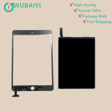 For iPad mini 2 2nd A1489 A1490 Touch Screen Digitizer Sensor Glass + LCD Display Screen Panel Monitor