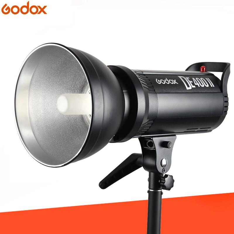 Godox DE400II 400 Вт 400Ws студийная вспышка GN65 стробоскоп лампа головное Освещение фотография Bowens крепление студийная вспышка