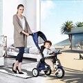 Cochecito de bebé 3 en 1 Plegable niños triciclos bicicletas inflable bebé carritos de bebé cochecito bicicleta bebek arabasi bicicleta