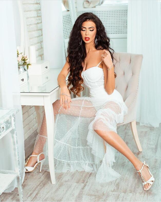 Tricoté Femmes Long Qualité Bandage Blanc Haute Robe 2018 Sans Manches Designer Sexy Parti Élastique dnYqvxUxg