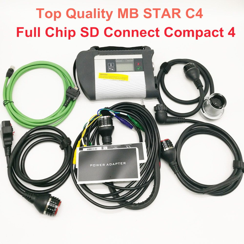 Top Quality mb star c4 2019 SD connect c4 with newest software V2019 07 include vediamo