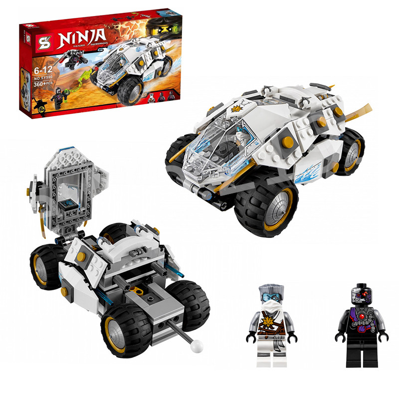 ФОТО 2016 new sy 360pcs/set x-1 ninja charger kai activate interceptor building block set gifts toys compatible e ninjagoelieds