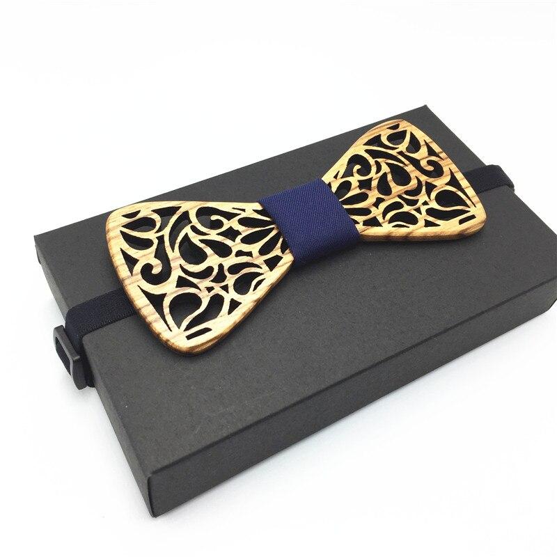 2018 Heißer Holz Bogen Krawatten Für Herren Hochzeit Anzüge Hölzernen Fliege Schmetterling Form Bowknots Gravatas Dünne Krawatte 100% Garantie