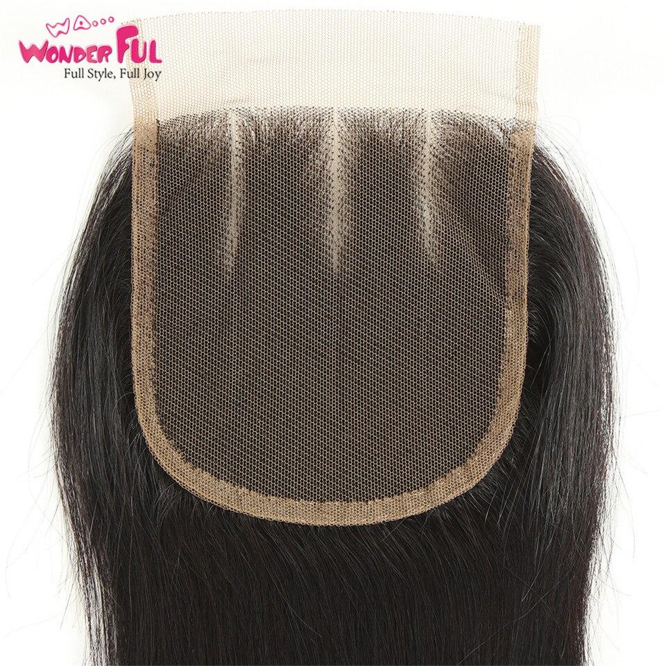 Joedir Hair-brasilianska hårvävsknippen med stängning, rakt hår - Skönhet och hälsa - Foto 5